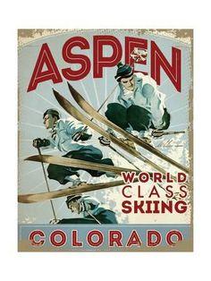 Aspen Giclee Print at Art.com