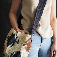 Wayuu Bags &Bikini etc. Tapestry Bag, Tapestry Crochet, Plaid Scarf, Straw Bag, Bikinis, Bags, Accessories, Videos, Instagram