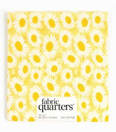 Fabric Quarters Cotton Fabric-Yellow Assorted