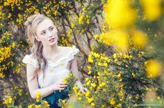 Fashion photo shoot for Cozy Hadmade Design with model Michaella