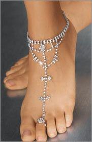 Frederick's of Hollywood - Rhinestone Foot Jewelry