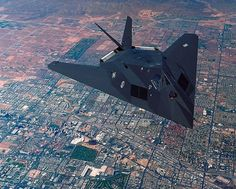 Stealth Fighter, this is a rare daytime photo, these jets fly mostly at night. Stealth Aircraft, Stealth Bomber, Fighter Aircraft, B1 Bomber, Military Jets, Military Aircraft, Air Fighter, Fighter Jets, Space Fighter