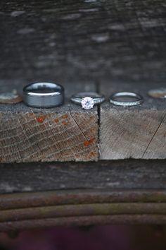 rustic ring shot, rustic purple DIY wedding, purple and orange fall wedding, Carley Rehberg Photography