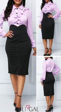 Shop sexy club dresses, jeans, shoes, bodysuits, skirts and more. Classy Work Outfits, Classy Dress, Chic Outfits, Fashion Outfits, Elegant Dresses, Cute Dresses, Casual Dresses, African Fashion Dresses, African Dress