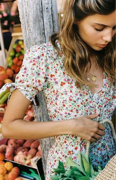 Shop Faithfull The Brand Marianne Floral Mini Dress at Urban Outfitters today. Cute Summer Dresses, Cute Dresses, Summer Outfits, Spring Fashion Trends, Spring Trends, Farmers Market Outfit, Urban Outfitters, Faithfull The Brand, Country