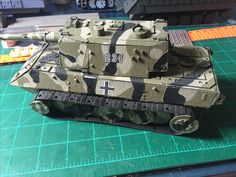 German Panzer model designed and built by Tony b ISM