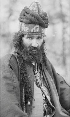 Antoin Sevruguin      Seated Dervish, Persia (Iran)     c.1900