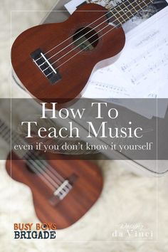 How to teach music in your homeschool is part of 20 Days of Homeschooling Encouragement Blog Party. Find homeschool support & ideas from homeschoolers just like you!  Amanda from Raising DaVinci shares her awesome recommendations & homeschooling encouragement on how you CAN teach music.
