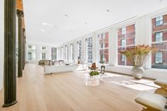 StreetEasy: 85 Grand Street in Soho, - Sales, Rentals, Floorplans Soho Loft, Lofts, Real Estate Search, Window View, Exposed Brick, Best Interior Design, Built In Storage, House Prices, Architecture Details