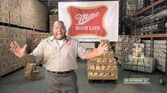 mybeerbuzz.com - Bringing Good Beers & Good People Together...: Miller High Life Commercial Delivery Man Windell M...