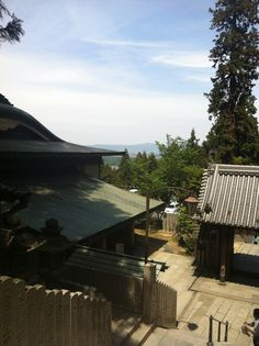 Hillside temple