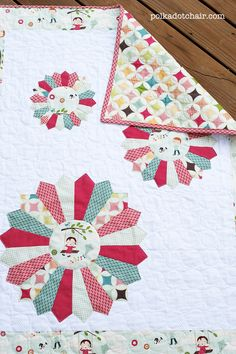 Riley Blake Designs Blog:  Dresden Burst Baby Quilt by Melissa Mortenson