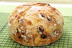 Cranberry Pecan Five Minute Artisan Bread - An amazingly simple way to have delicious, crisp European-style crusts and tender insides in a homemade bread! Hint: Use parchment instead of cornmeal Bread Mix, Yeast Bread, Bread Baking, Crisp Bread, Bread Food, Food Food, Bread Rolls, Quick Bread, Sweet Bread