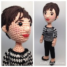 Susan, Doctor Who First Doctor Companion Amigurumi Crochet Pattern | Allison Hoffman, on Ravelry. #crochet #geek #crafts