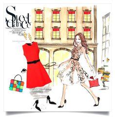 """Street Dance"" by shoecraycray ❤ liked on Polyvore featuring Elizabeth Arden, Dolce&Gabbana, Victoria Beckham, ESCADA, Yves Saint Laurent, Pomellato and Marco Bicego"