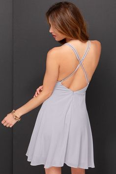 LULUS Exclusive Dream About Me Grey Dress at Lulus.com!