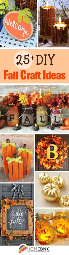 570 Delightful Autumn Crafts And Decorating Images Autumn Crafts