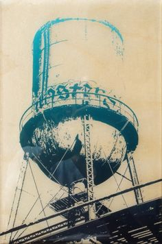 historic dallas prints - Continental Gin Water Tower