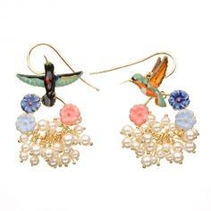les nereides ... pretty earrings!