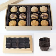 Gift Box for Cookie Dough Protein Bites
