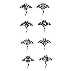 Small Manta ray tatoos | Maori / tribal tattoo Manta Ray, Turtles | P…