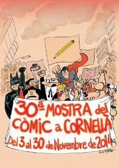 30a Mostra del Còmic a Cornellà (del 3 al 30 nov. 2014)