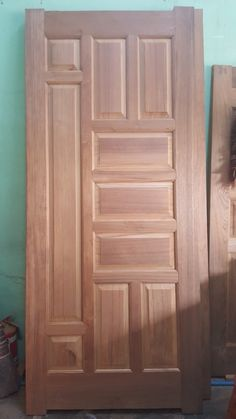 Single Main Door Designs, House Main Door Design, Flush Door Design, Wooden Front Door Design, Pooja Room Door Design, Door Design Interior, Wood Front Doors, Wooden Doors, Bedroom False Ceiling Design