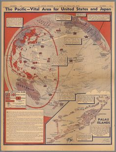 The Pacific – Vital area for United States and Japan (1942)