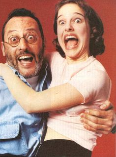 jean reno and natalie portman :)