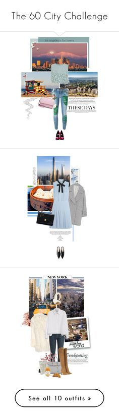 """""""The 60 City Challenge"""" by pippi-loves-music ❤ liked on Polyvore featuring Yves Saint Laurent, Melissa, Ruban, Dolce&Gabbana, WithChic, Designers Guild, Gucci, Bobbi Brown Cosmetics, TAXI and STELLA McCARTNEY"""