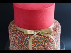 How to Make a Funfetti Sprinkle Party Cake: Howdini Cakes - YouTube