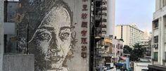 Noticias ao Minuto - Trabalho de Vhils já pode ser contemplado em Hong Kong