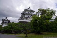 Japanese castles I've visited: #31 Iga Ueno Castle in Mie Prefecture. I really liked that castle, but very close is an AWESOME ninja museum and a ninja show. Highly recommended! :)