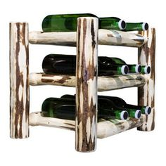 Montana Woodworks�Montana 9-Bottle Tabletop Wine Rack