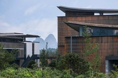 Integral Eco-Industrial Campus / Ronald Lu & Partners | ArchDaily