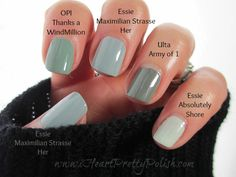 Essie Maximilian Strasse-Her Review and Comparisons