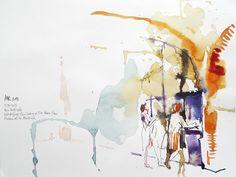 Urban Sketchers Paris: juillet 2013