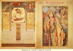 Alphonse Mucha. The New York Daily News. Olga's Gallery.