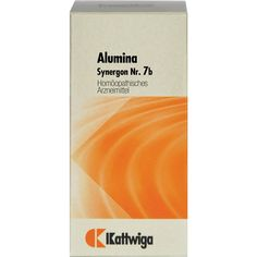 SYNERGON 7 b Alumina Tabletten:   Packungsinhalt: 100 St Tabletten PZN: 04905181 Hersteller: Kattwiga Arzneimittel GmbH Preis: 5,47 EUR…