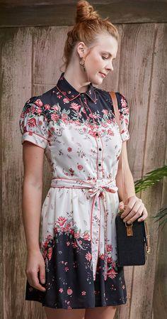 Só na Antix Store você encontra Vestido Mini Rosas com exclusividade na internet