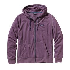 With the Patagonia Men's Lightweight Full-Zip Hoody you can think simple, lightweight layering for morning surf checks or everyday casual wear!  #FairTrade #organic #apparel