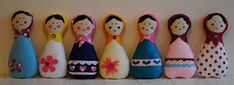 Maripê: Molde de boneca matrioska
