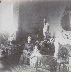 Zenaida with little Nicholas 1884
