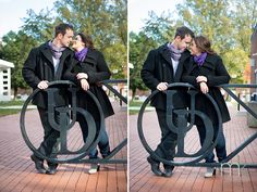 mkPhoto » Christine and Zach's Engagement Session @ University of Delaware campus ~ mkPhotography, Delaware Engagement Photographer
