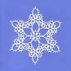 Joy Tatting Pattern PDF snowflake tatted snowflake tatting