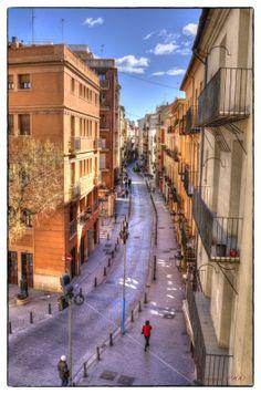 vistas de una calle