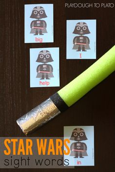 Star Wars Sight Word Game