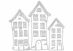 Really Cute Houses - Print them out!