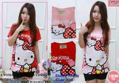 Kaos Hello Kitty Ups 728162 R38, Ready Stock, Untuk pemesanan dan informasi silahkan hubungi Admin di:  HP/WhatsApp: 085259804804