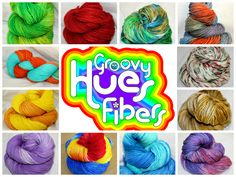 """Groovy Hues Fibers has been working *very* hard in anticipation of the last-minute shopping and gift-crafting this holiday season! There is a brand *new* """"READY TO SHIP"""" section of the shop! All of this is dry inventory ready to send to you! Is there a brightly-colored skein just waiting for you? Find out at:   https://www.etsy.com/shop/GroovyHues?section_id=16375354&ref=shopsection_leftnav_1  """"LIKE"""" our Facebook for shop updates and coupon codes! www.facebook.com/GroovyHuesFibers"""